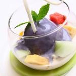 超級好吃的原味版白桃甜點,現在想起來都口水直流~~