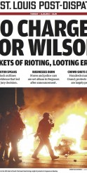 Riots Erupt in Ferguson Following Ruling