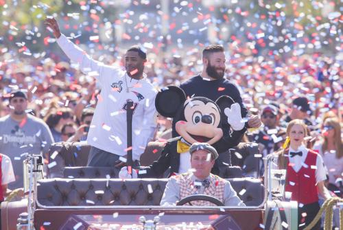 Disneyland Resort-Patriots Victory Parade