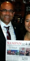 Anthony Soto Draws Support at Chinatown Campaign Event